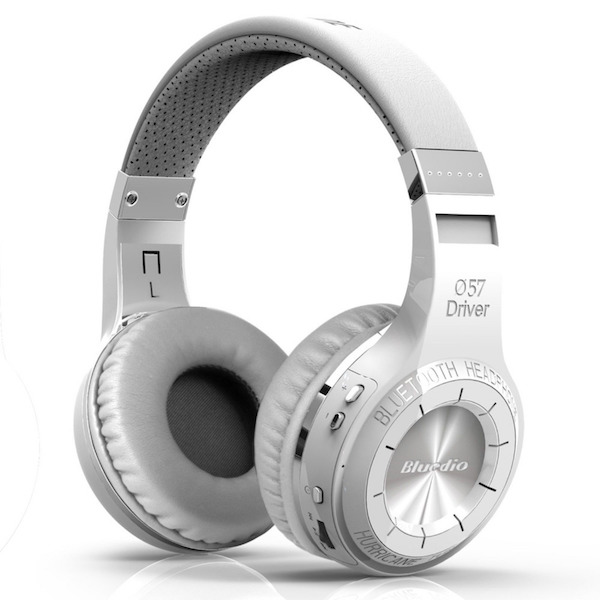 Bluedio H+ Turbine Hovedtelefoner hvid
