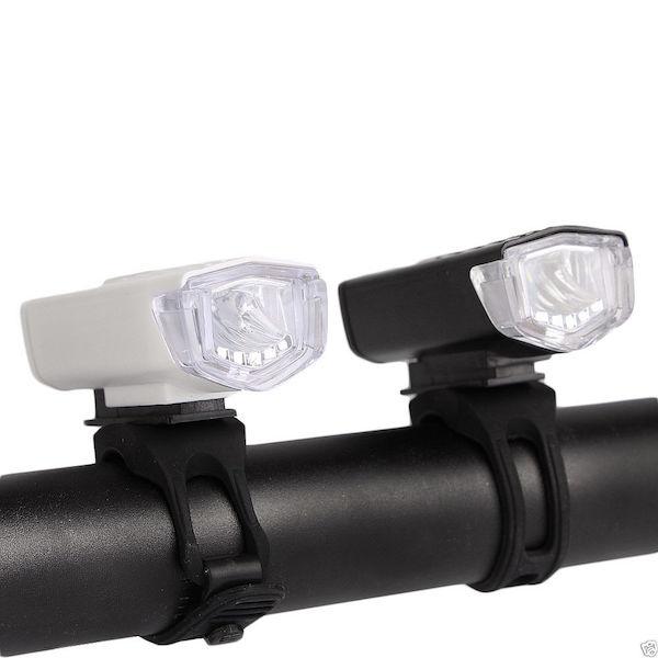 CYKEL FORLYGTE 300 LUMEN LED GENOPLADELIG USB