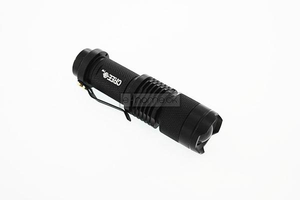Image of   UltraFire LED lommelygte med fokus 300 lumen