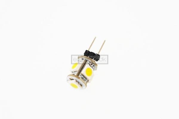 Image of   G4 LED rund 0.8W 12v varm hvid