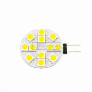 G4 LED flad 2W 12v varm hvid