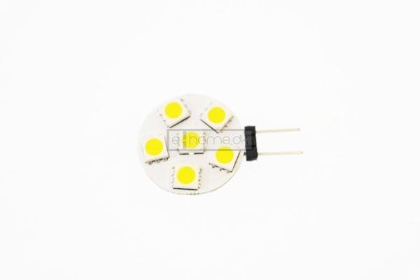 G4 LED flad 0.8W 12v varm hvid
