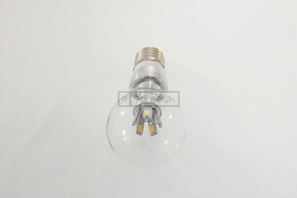 Image of   E27 Globe LED 5 watt 360grader hvid dæmpbar