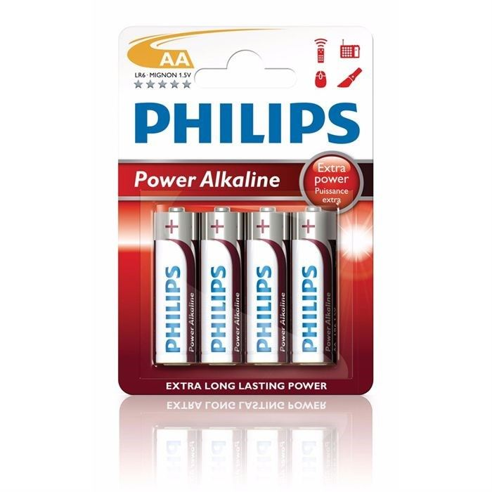 Phillips AA batterier 4 stk.
