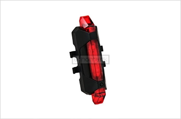 Cykel baglygte LED genopladelig USB