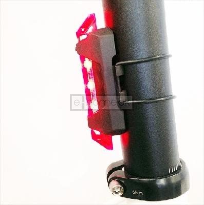 Cykel baglygte LED genopladelig USB · Sport og Fritid