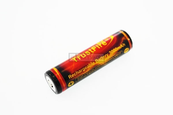 Image of   18650 Batteri 3000 mAh TrustFire Gold