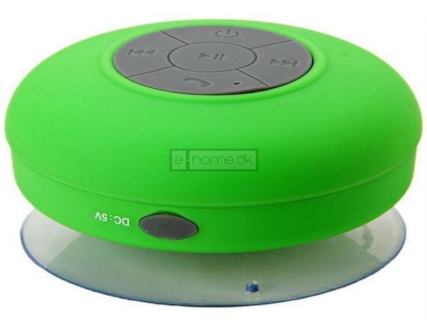 Vandtæt bluetooth højtaler grøn