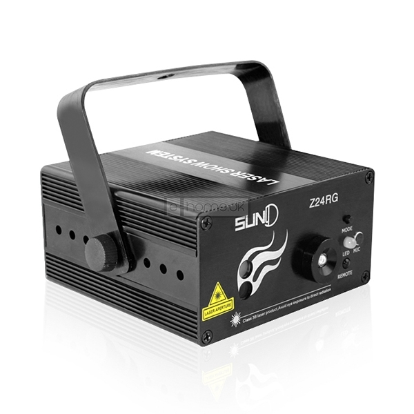 Disko Laserlys Suny Z24RG 300mw