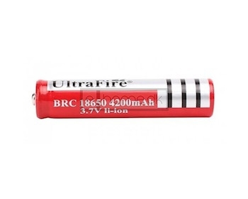 Image of   18650 batteri 4200 mAh Ultrafire