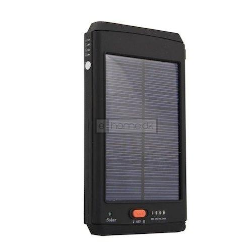 Laptop Powerbank 11.200 mAh m/ sol panel
