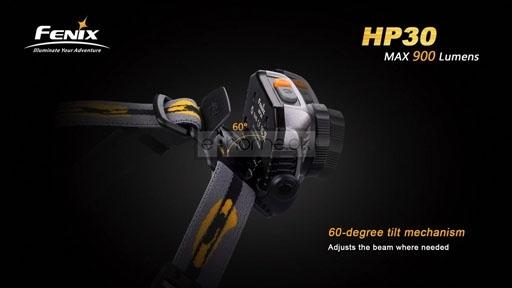 Image of   Fenix HP30 Pandelampe LED 900 lumen