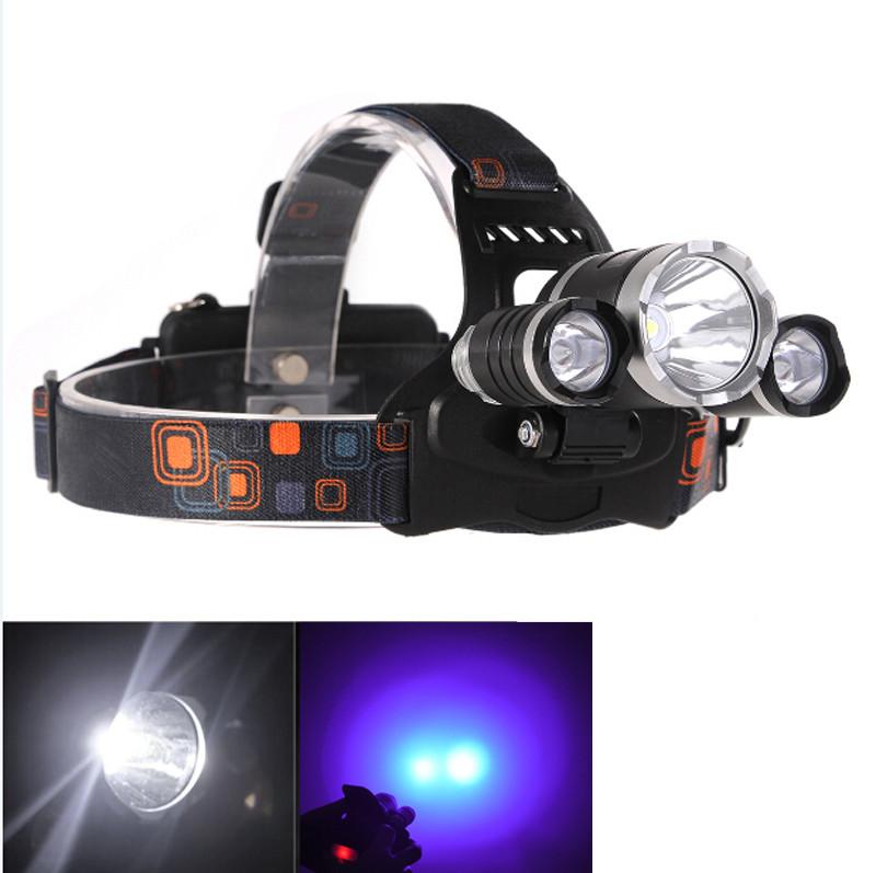 Image of   Led UV pandelampe til ravsøgning