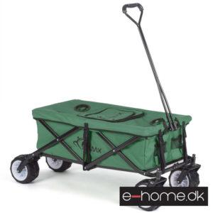 Foldbar-Trækvogn-Grøn-med-kølebox_400006_e-home