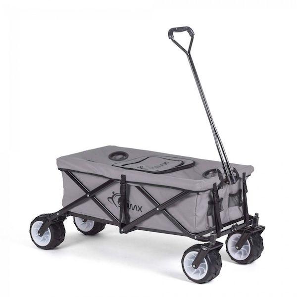 Foldbar trækvogn med køleboks