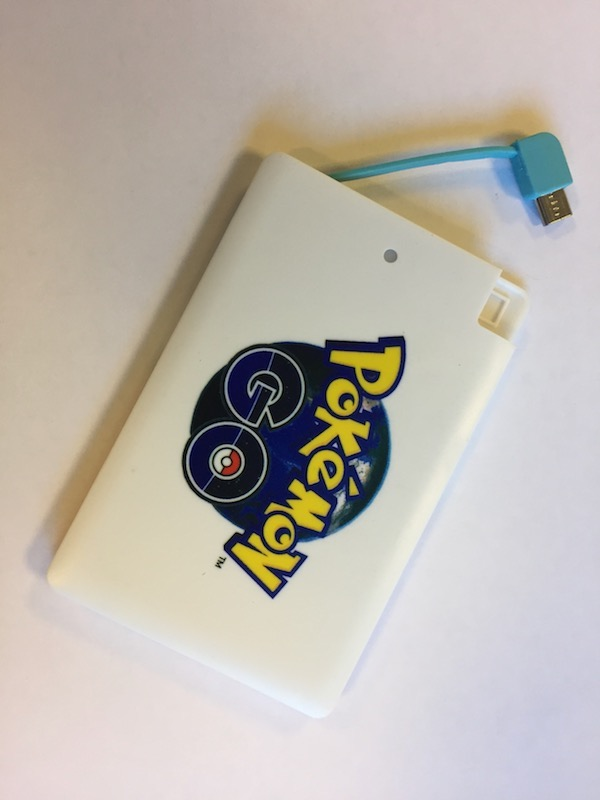 Image of   Powerbank 2600mAh med Pokémon Go motiv