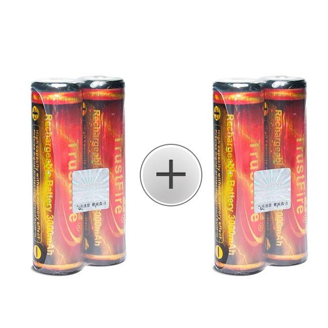 Trustfire Gold 18650 lithium batterier