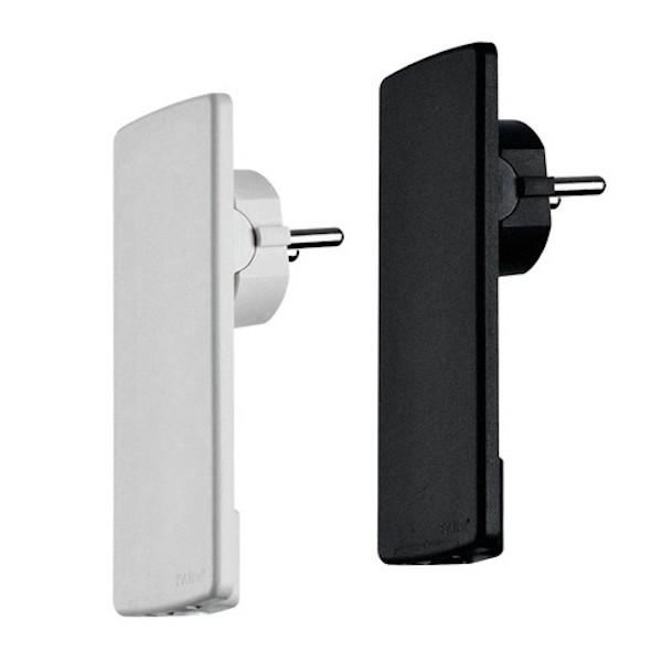Image of   Fladstik EVOline® Plug hvid/sort