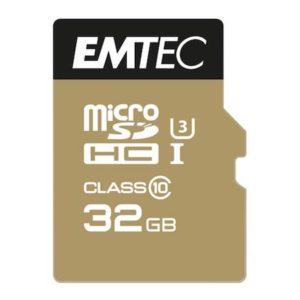 MicroSDHC 32GB EMTEC SpeedIn CL10 95MB/s FullHD