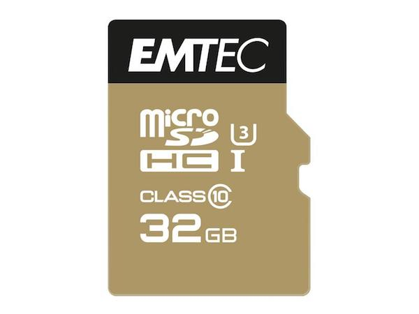 Image of   MicroSDHC 32GB EMTEC SpeedIn CL10 95MB/s