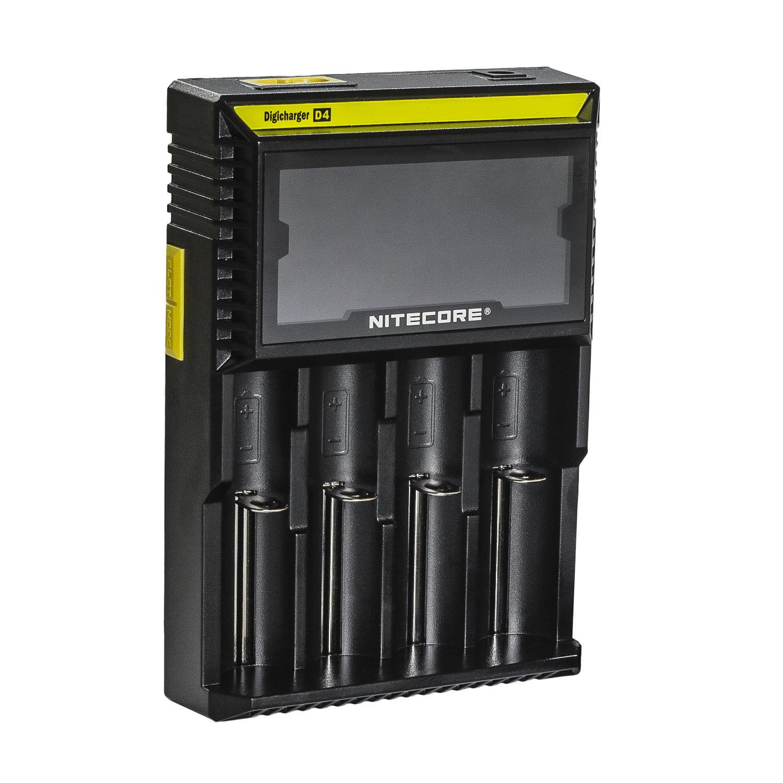 Image of   Nitecore D4 batterioplader lithium