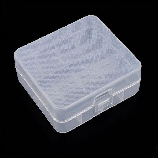 Opbevarings boks til 26650 lithium batterier