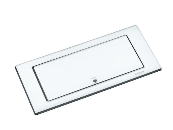 Image of   EVOline Backflip hvid glas