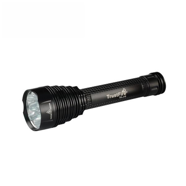 Image of   Trustfire TR-J18 8500 lumen lygte sæt i gaveæske
