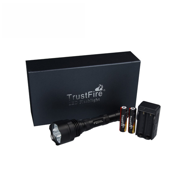 Image of   UV ravlygtesæt Trustfire 25W - 2500lumen