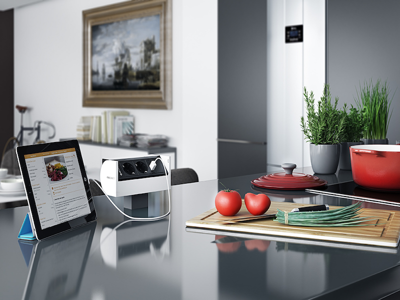 Image of   IB Connect Prisma 2 EU stik + 1 Usb charger