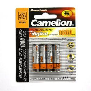 Genopladelige AAA batterier