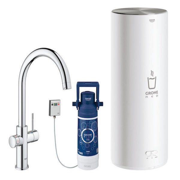 Image of   GROHE RED DUO 2.0 MED C-TUD, KROM INKL FILTERSÆT 7L