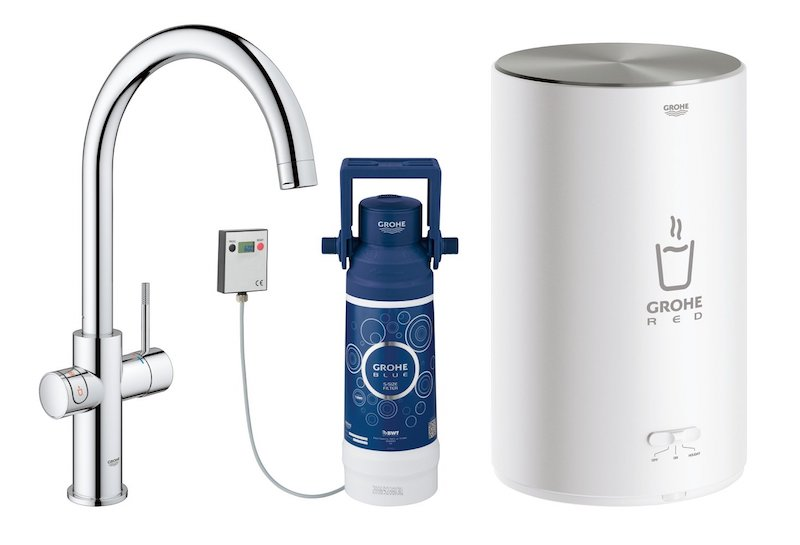 Image of   GROHE RED DUO 2.0 MED C-TUD, KROM INKL FILTERSÆT 4L
