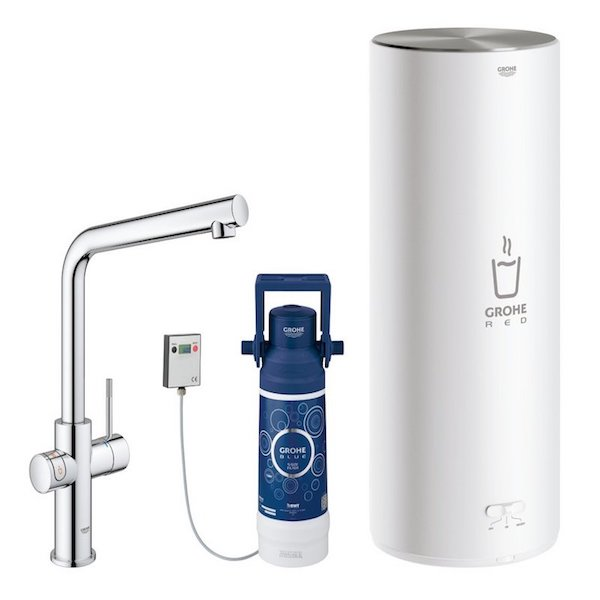 Image of   GROHE RED DUO 2.0 MED L-TUD, KROM INKL FILTERSÆT 7L