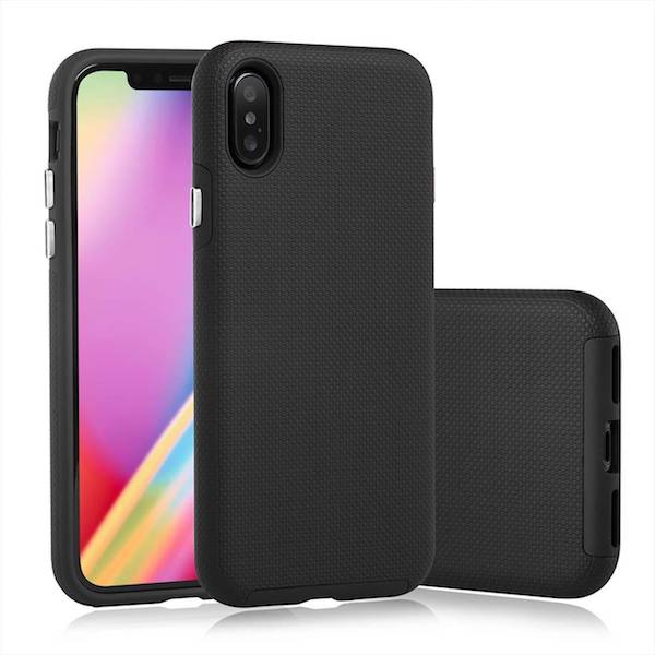 Iphone X mobiltelefon cover Soft TPU – sort