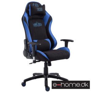 Gamer kontorstol Blå:Sort Stof_301762_e-home