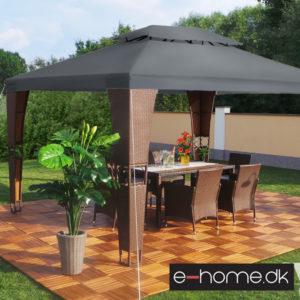 Luksus-pavillon - Royal - 3x4m -Brun-Antrazit_e-1030326606ba_e-home