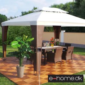 Luksus-pavillon - Royal - 3x4m -Brun-Creme_e-1030326606bc_e-home