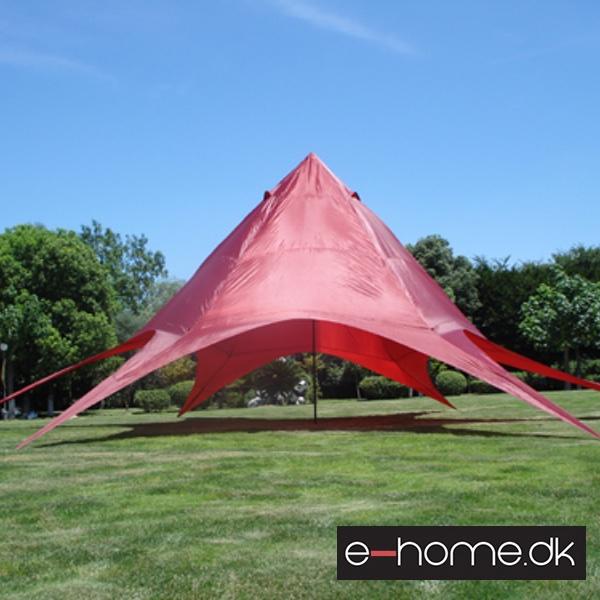 Partytelt pavilion 14 meter I diameter nem at stille op