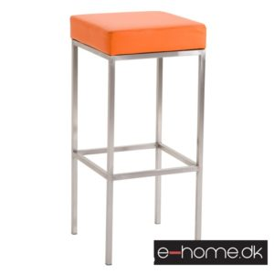 Barstol Newark 80 Kunstlæder Rustfri - Orange_309685_e-home