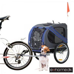Hundecykeltrailer_Blå-Grå_D00-098BU_e-home