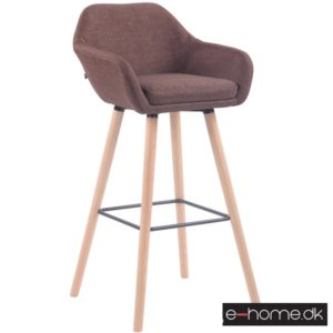 Barstol model Adelaide_stof brun_ben natur_308829_e-home