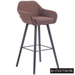 Barstol model Adelaide_stof brun_ben sort_308840_e-home