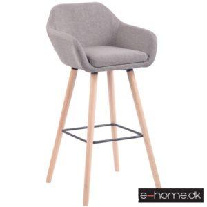 Barstol model Adelaide_stof grå_ben natur_308832_e-home