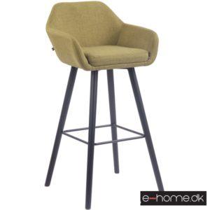 Barstol model Adelaide_stof grøn_ben sort_308844_e-home