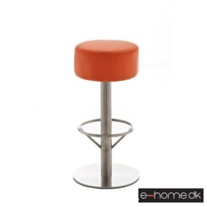 Barstol Pisa Kunstlæder V1 - Orange_1037709 e-home
