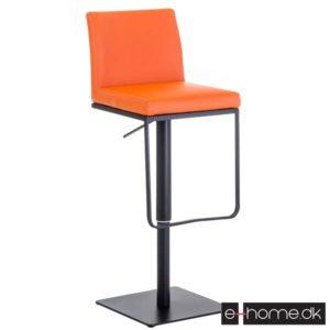 Barstol Panama B_kunstlæder_Orange_102185709_e-home
