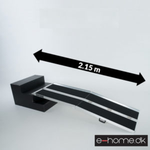 Skridsikker_kørestolsrampe_Kompakt_215cm_#R7J_e-home_TITEL