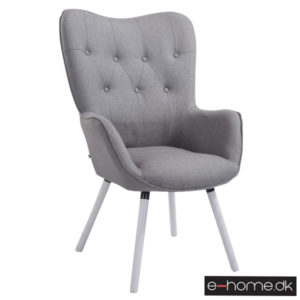 Lounger Aalborg hvide ben grå stof 172056208_e-home_TITEL