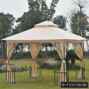 Havepavillon - dobbelt tag - 3x3 - beige - 84C-005 - e-home_TITEL